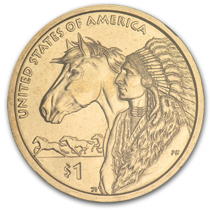 2012-D Native American Sacagawea Dollar MS-68 NGC